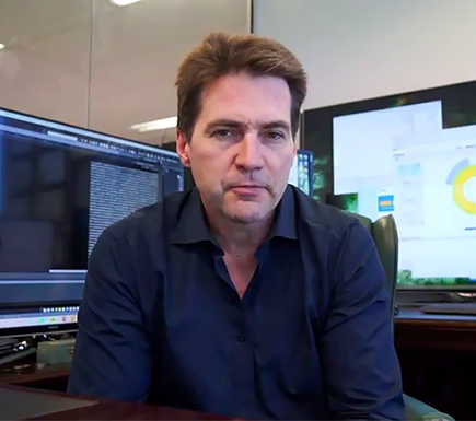 Craig Steven Wright In His Office