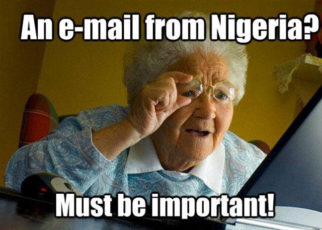 Email From Paxful Seller Who Is Nigerian Prince